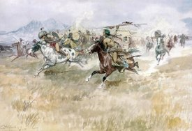 Charles M. Russell - Indian Ambush