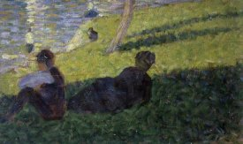 Georges Seurat - Study for A Sunday on La Grande Jatte I