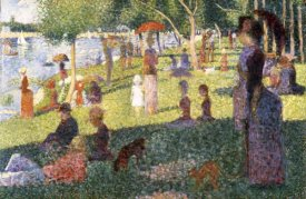 Georges Seurat - Sunday Afternoon On The Island of La Grande Jatte (Study)