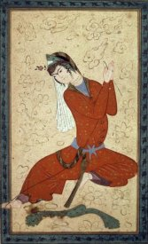 Shah Abbas School - Seated Woman at Rest