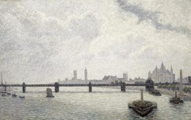 Alfred Sisley - Charing Cross Bridge, London