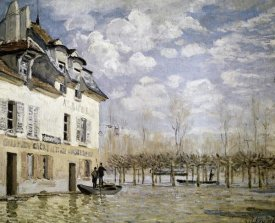 Alfred Sisley - The Boat in the Flood, Port Marly