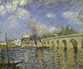 Alfred Sisley - The Bridge