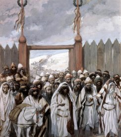 James Tissot - Craftiness of The Gideonites