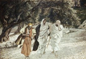 James Tissot - Disciples On The Road To Emmaus