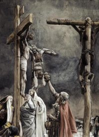 James Tissot - I Thirst, Vinegar Given To Jesus
