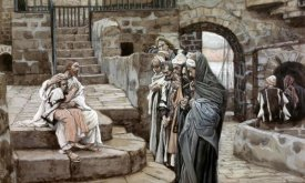 James Tissot - Jesus and The Little Child