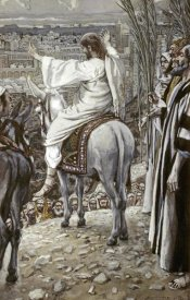 James Tissot - Jesus Beheld The City and Wept Over It