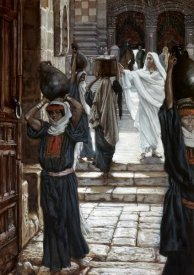 James Tissot - Jesus Forbids The Carrying of Vesselsthrough Temple