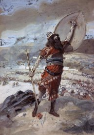 James Tissot - Joshua Gives The Signal For The Attack
