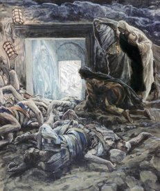 James Tissot - Mary Magdalene and The Holy Women at The Tomb