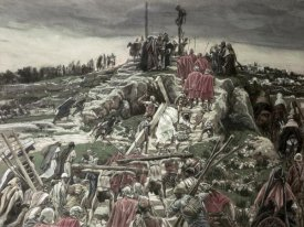 James Tissot - Procession Arriving at Calvary