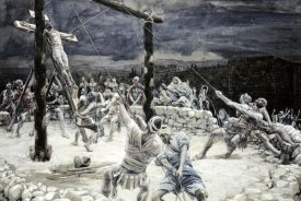 James Tissot - Raising of The Cross