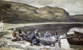 James Tissot - Second Miraculous Draught of Fishes