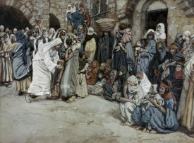 James Tissot - Suffer The Little Children Come Unto Me