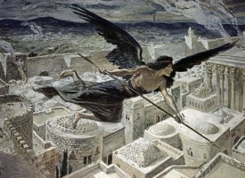 James Tissot - The Slaying of the Assyrians