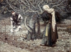 James Tissot - Vine Dresser & The Fig Tree
