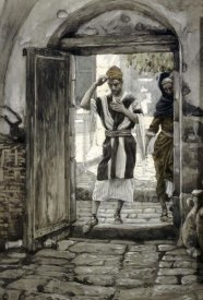 James Tissot - When Ye Come Into a House Salute It