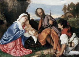 Titian - Holy Family