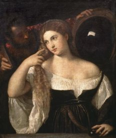 Titian - Portrait of a Woman at Her Toilette