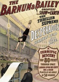 Unknown - Barnum & Bailey - Desperado's Terrible Leap
