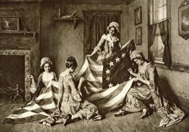 Unknown - Betsy Ross Sewing the First U.S. Flag Philadelphia, Pennsylvania, 1777