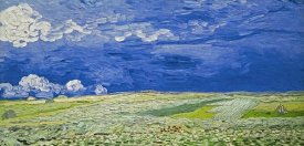 Vincent Van Gogh - Field under a Stormy Sky