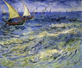 Vincent Van Gogh - Seascape at Saintes-Maries-De-La-Mer