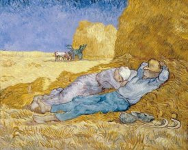 Vincent Van Gogh - The Siesta (La Siesta)