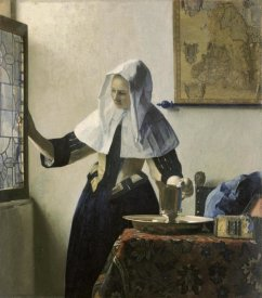 Johannes Vermeer - Woman with a Water Jug