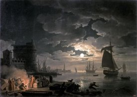 Claude-Joseph Vernet - Harbor of Palermo