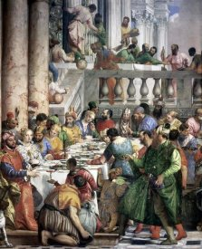 Paolo Veronese - Marriage at Cana (Detail)