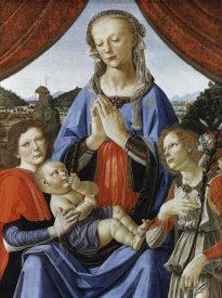 Andrea del Verrocchio - Madonna & Child With Saints