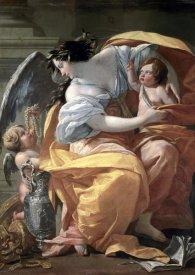 Simon Vouet - Allegory of Wealth, late 17th C.