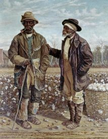 Frederick Walker - Two Elderly Cotton Pickers