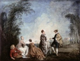 Jean-Antoine Watteau - An Embarrassing Proposition