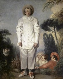 Jean-Antoine Watteau - Pierrot, Also Known As Gilles