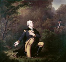 Paul Weber - George Washington In Prayer at Valley Forge