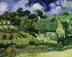 Vincent Van Gogh - House with Straw Ceiling, Cordeville