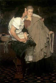 Sir Lawrence Alma-Tadema - The Honeymoon (Reign of Augustus)