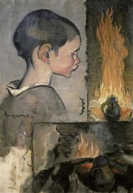 Louis Anquetin - Profile of a Child (Profil d'Enfant)
