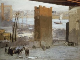 George Bellows - The Lone Tenement