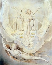 William Blake - Christ Offers to Redeem Man