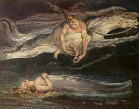 William Blake - Divine Comedy: Pity 19th C.