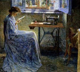 Umberto Boccioni - The Romance of One Seamstress