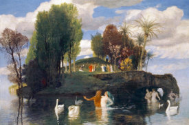 Arnold Bocklin - The Island of Life