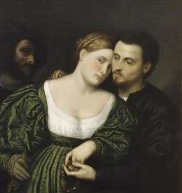 Paris Bordone - The Venetian Lovers
