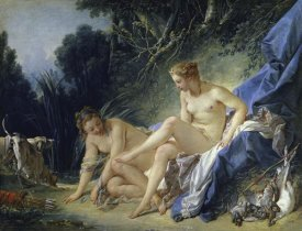 Francois Boucher - Diana Leaving the Bath