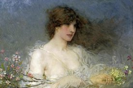 George Henry Boughton - A Spring Idyll
