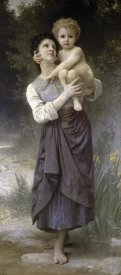 William-Adolphe Bouguereau - Brother & Sister